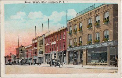 , Queen Street, Charlottetown, P.E.I. (0234), PEI Postcards