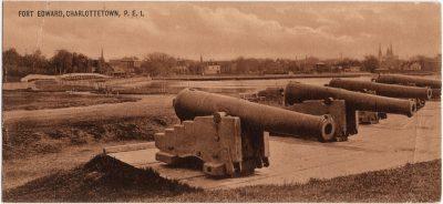 , Fort Edward, Charlottetown, P.E.I. (0213), PEI Postcards