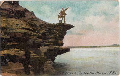 , Entrance to Charlottetown Harbor, P.E.I. (0259), PEI Postcards