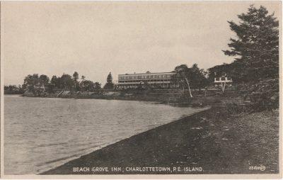 , Beach Grove Inn, Charlottetown, P.E.Island (0248), PEI Postcards