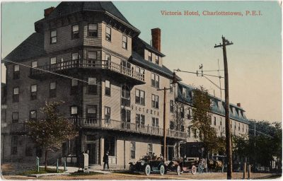 , Victoria Hotel, Charlottetown, P.E.I. (0247), PEI Postcards