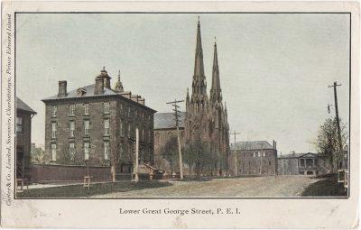 , Lower Great George Street, P.E.I. (0276), PEI Postcards
