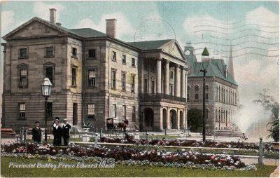 , Provincial Building, Prince Edward Island (0299), PEI Postcards