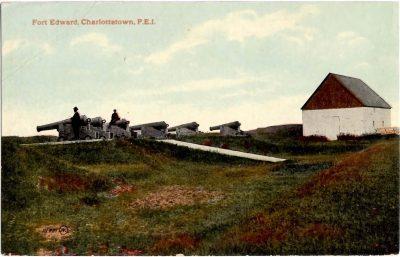 , Fort Edward, Charlottetown, P.E.I. {smaller font than 0315} (0314), PEI Postcards