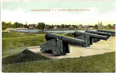 , Charlottetown, P.E. Island from Fort Edward (0313), PEI Postcards
