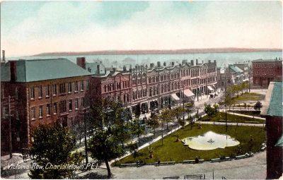 , Victoria Row, Charlottetown, P.E.I. (0316), PEI Postcards