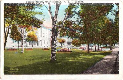 , Queens Square, Charlottetown, P.E.I. Canada (0319), PEI Postcards