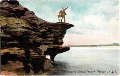 , Entrance to Charlottetown Harbor, P.E.I. (0322), PEI Postcards