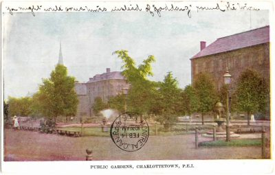 , Public Gardens, Charlottetown, P.E.I. (0321), PEI Postcards