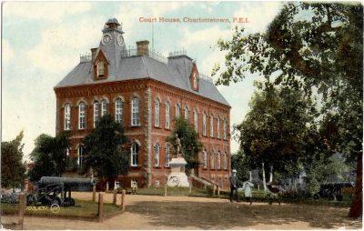 , Court House, Charlottetown, P.E.I. (0372), PEI Postcards