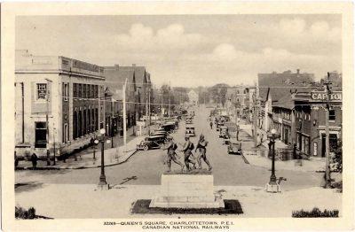 , Queen's Square, Charlottetown, P.E.I. (0380), PEI Postcards