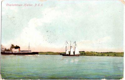 , Charlottetown Harbor, P.E.I. (0362), PEI Postcards