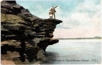 , Entrance to Charlottetown Harbor, P.E.I. (0359), PEI Postcards
