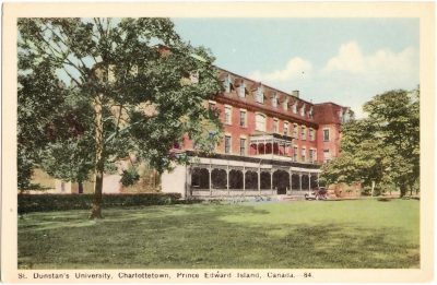 , St. Dunstan's University, Charlottetown, Prince Edward Island, Canada. (0357), PEI Postcards