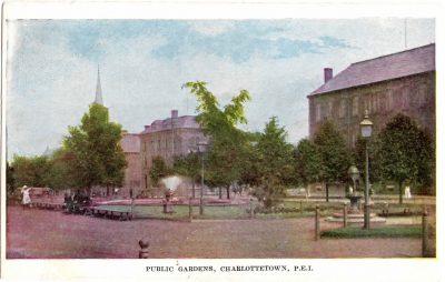 , Public Gardens, Charlottetown, P.E.I. (0355), PEI Postcards