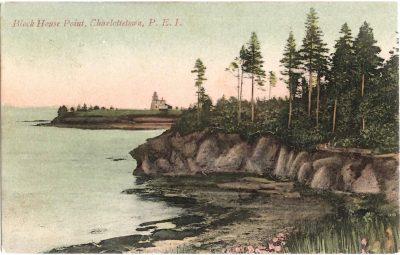 , Block House Point, Charlottetown, P.E.I. (0386), PEI Postcards