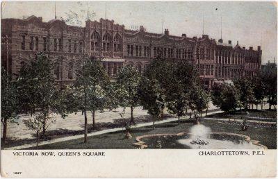 , Victoria Row, Queen's Square, Charlottetown, P.E.I. (0409), PEI Postcards
