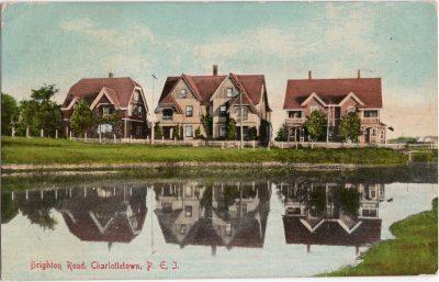 , Brighton Road, Charlottetown, P.E.I. (0455), PEI Postcards