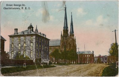 , Great George St. Charlottetown, P.E.I. (0460), PEI Postcards