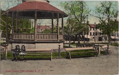 , Queen Square, Charlottetown, P.E.I. (0469), PEI Postcards