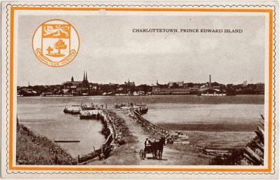 , Charlottetown, Prince Edward Island / Chocolates by Moirs, Halifax (0476), PEI Postcards