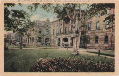 , Legislative Buildings, Charlottetown, Prince Edward Island (0413), PEI Postcards