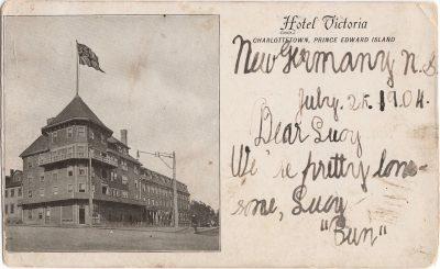 , Hotel Victoria, Charlottetown, Prince Edward Island (0414), PEI Postcards