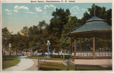 , Queen Square, Charlottetown, P.E. Island (0405), PEI Postcards