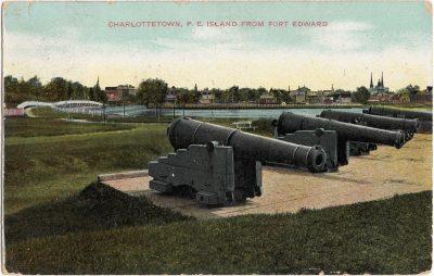 , Charlottetown, P.E. Island from Fort Edward (0415), PEI Postcards