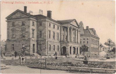 , Provincial Building, Charlotettown, P.E.I. (0416), PEI Postcards