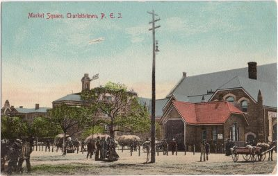 , Market Square, Charlottetown, P.E.I. (0407), PEI Postcards