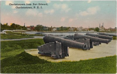 , Charlottetown from Fort Edward, Charlottetown, P.E.I. (0425), PEI Postcards