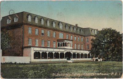 , St. Dunstan's College, Charlottetown, P.E.I. (0431), PEI Postcards