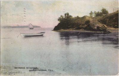 , Entrance to Harbor, Charlottetown, P.E.I. (0440), PEI Postcards