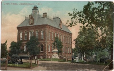 , Court House, Charlottetown, P.E.I. (0442), PEI Postcards