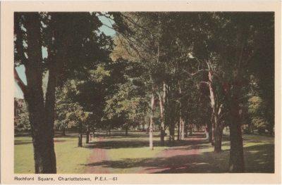, Rochford Square, Charlottetown, P.E.I. (0449), PEI Postcards