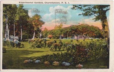 , Experimental Gardens, Charlottetown, P.E.I. (0452), PEI Postcards