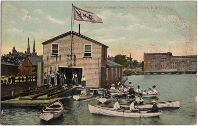 , Hillsborough Boating Club, Charlottetown, PEI (0533), PEI Postcards