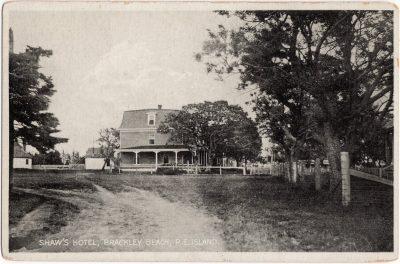 , Shaw's Hotel, Brackley Beach, P.E. Island. (0534), PEI Postcards
