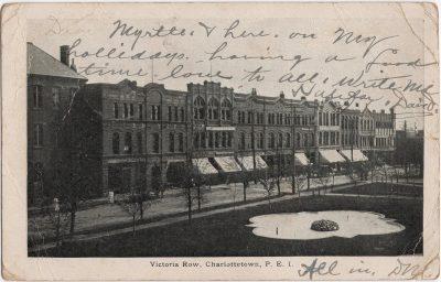 , Victoria Row, Charlottetown, P.E.I. (0537), PEI Postcards