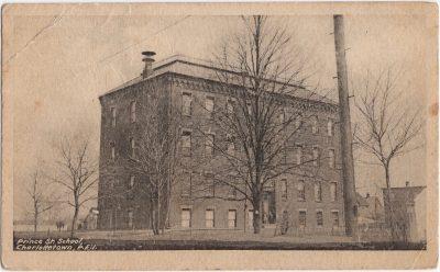, Prince St. School Charlottetown P.E.I. (0539), PEI Postcards