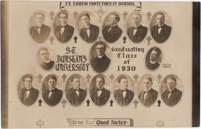 , St Dunstan's University, Graduating Class of 1930 (0492), PEI Postcards