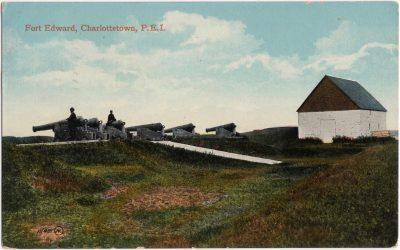 , Fort Edward, Charlottetown, P.E.I. (0500), PEI Postcards