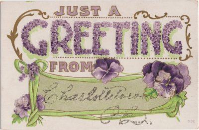 , Just a Greeting from Charlottetown P.E.I. (0502), PEI Postcards