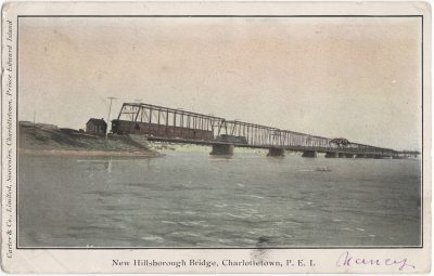 , New Hillsborough Bridge, Charlottetown, P.E.I (0505), PEI Postcards
