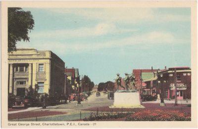 , Great George Street, Charlottetown, P.E.I., Canada (0506), PEI Postcards