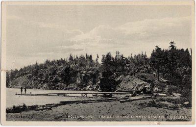 , Holland Cove, Charlottetown Summer Resorts, P.E. Island. (0515), PEI Postcards