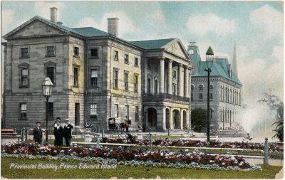 , Provincial Building, Prince Edward Island (0516), PEI Postcards