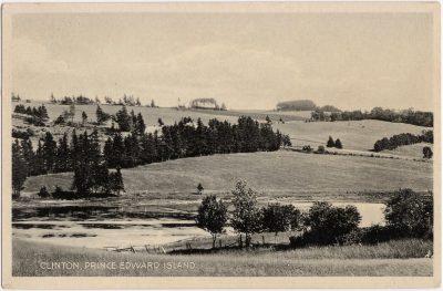 , Clinton, Prince Edward Island (0525), PEI Postcards