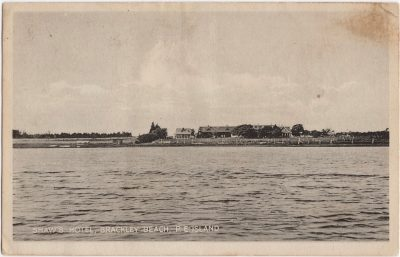 , Shaw's Hotel, Brackley Beach, P.E. Island (0528), PEI Postcards